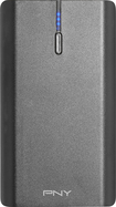 PNY - T6600 Rechargeable Power Pack - Charcoal Gray