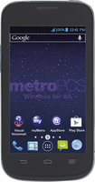 MetroPCS - ZTE Concord II 4G No-Contract Cell Phone - Black