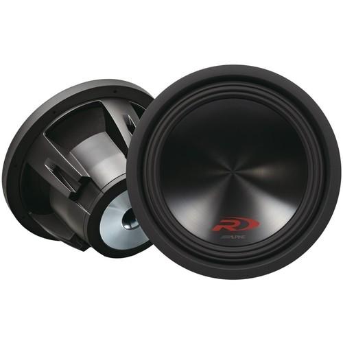 Alpine - Type-R 12 Dual-Voice-Coil 4-Ohm Subwoofer - Black