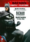 Batman Triple Feature: Gotham Knight/under The Red Hood/year One [3 Discs] (dvd) 6570762
