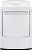 LG - 7.3 Cu. Ft. 9-Cycle Ultralarge-Capacity Electric Dryer - White