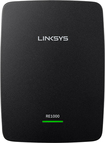 Linksys - Wireless-N Range Extender with Ethernet Port