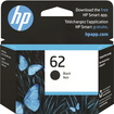 HP - 62 Black Original Ink Cartridge - Black