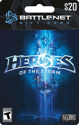 Blizzard - $20 Heroes of the Storm Battle.net Gift Card - Multi