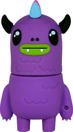 Action Sport Drives - So So Happy Mad Dog 16GB USB 2.0 Flash Drive - Purple