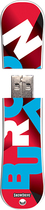 Action Sport Drives - Burton Process 16GB USB 2.0 Flash Drive - Pattern