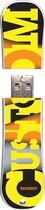 Action Sport Drives - Burton Custom Model 16GB USB 2.0 Flash Drive