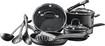 Cuisinart - Pro Classic 13-Piece Hard Anodized Cookware Set - Black