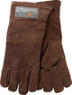 """Outset - 15"""" Leather Grill Gloves (Pair) - Brown"""