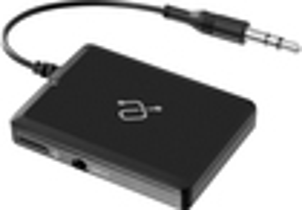 Aluratek - iStream Universal Bluetooth Audio Receiver - Black