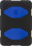 Griffin Technology - Survivor Case for Apple® iPad® mini, iPad mini 2 and iPad mini 3 - Black/Blue