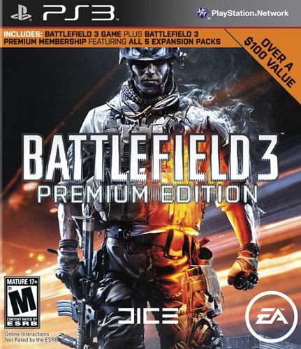 Battlefield 3: Premium Edition - PlayStation 3