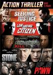 Seeking Justice/law Abiding Citizen/righteous Kill/stone/pawn [5 Discs] (dvd) 6606036