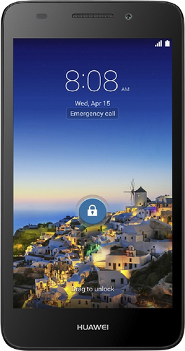 Huawei - SnapTo 4G with 8GB Memory Cell Phone (Unlocked) - Black