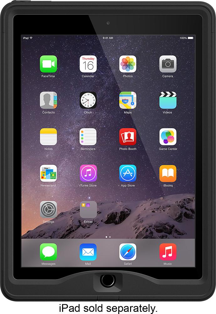 LifeProof - nüüd Case for Apple® iPad® Air 2 - Black