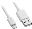 Dynex™ - 6' Lightning Charge-and-Sync Cable - White