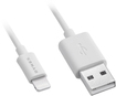 Dynex™ - 3' Lightning Charge-and-Sync Cable - White
