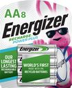 Energizer - Rechargeable Aa Batteries (8-pack) - Silver