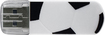 Verbatim - Store 'n' Go 8GB USB 2.0 Flash Drive - Soccer - White/Black