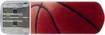 Verbatim - Store 'n' Go 8GB USB 2.0 Flash Drive - Basketball - Brown/Red/Black