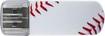 Verbatim - Store 'n' Go 8GB USB 2.0 Flash Drive - Baseball - White/Red