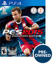 Pro Evolution Soccer 2015 - Pre-owned - Playstation 4