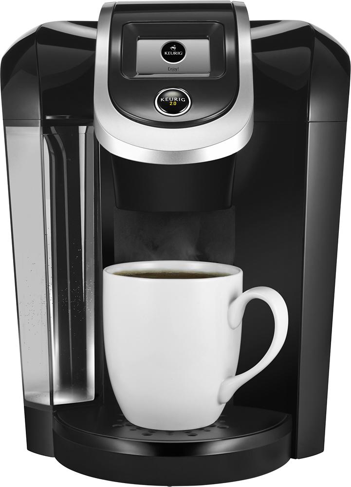 Keurig - 2.0 K350 4-Cup Coffeemaker - Black