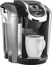 Keurig - 2.0 K450 4-Cup Coffeemaker - Black/Silver