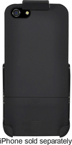 Platinum Series - Case with Holster for Apple® iPhone® 5 and 5s - Black