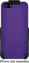 Platinum Series - Case with Holster for Apple® iPhone® 5 - Purple