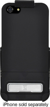 Platinum Series - Kickstand Case with Holster for Apple® iPhone® 5 and 5s - Black