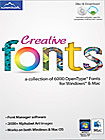 Creative Fonts - Mac/Windows
