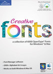 Creative Fonts - Mac|Windows
