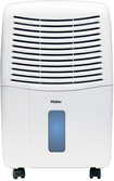 Haier - 65-pint Portable Dehumidifier - White 6636097