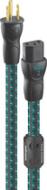 AudioQuest - NRG-2 6' AC Power Cable - Black/Gray/Green