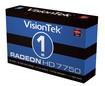 VisionTek - AMD Radeon HD 7750 1GB GDDR5 PCI Express 3.0 Graphics Card
