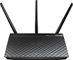 Asus - Dual-Band Wireless-AC Gigabit Router with 4-Port Ethernet Switch