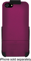 Platinum - Case with Holster for Apple® iPhone® 5 and 5s - Magenta
