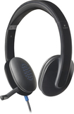 Logitech - H540 On-Ear USB Headset - Black