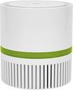Therapure - Desktop Air Purifier - White/green 6641025
