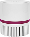Therapure - Desktop Air Purifier - White/Pink