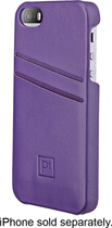 Platinum - Wallet Case for Apple® iPhone® 5s - Deep Mauve