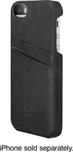 Platinum - Wallet Case for Apple® iPhone® 5s - Black