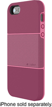 Logitech - protection [+] Case for Apple® iPhone® 5 and 5s - Plum/Pink