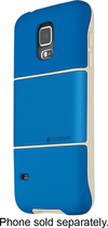 Logitech - protection [+] Case for Samsung Galaxy S 5 Cell Phones - Pacific Blue