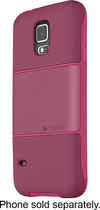 Logitech - protection [+] Case for Samsung Galaxy S 5 Cell Phones - Scarlett Plum