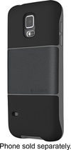 Logitech - protection [+] Case for Samsung Galaxy S 5 Cell Phones - Black Gunmetal