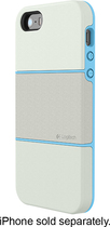Logitech - protection [+] Case for Apple® iPhone® 5 and 5s - White/Blue