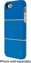Logitech - protection [+] Case for Apple® iPhone® 5 and 5s - Blue/White