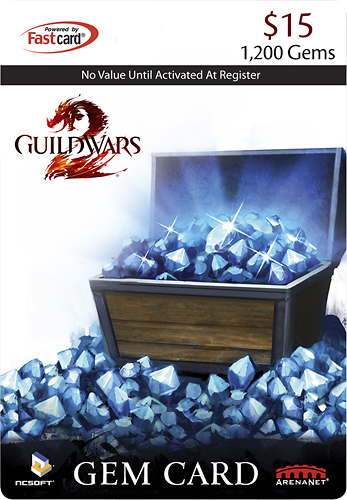 NCSOFT - Guild Wars 2 Gem Card ($15) - Multicolor